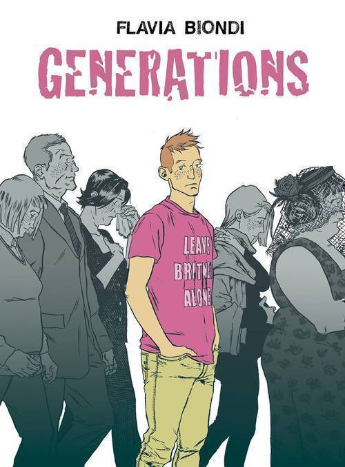 Generations Graphic Novel 01