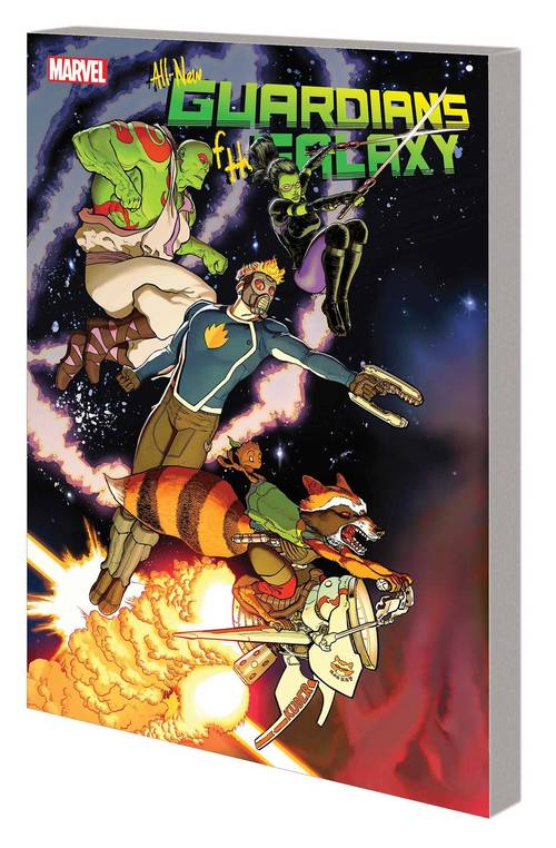 All New Guardians Of Galaxy TPB 01 Communication Breakdown