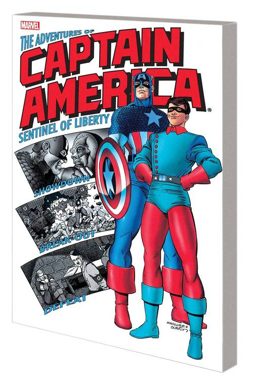 Captain America TPB Adventures Of Captain America