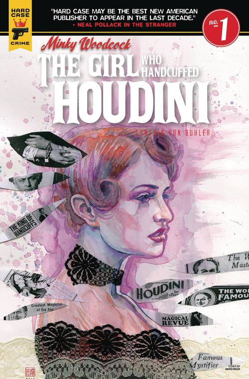 Minky Woodcock Girl Who Handcuffed Houdini