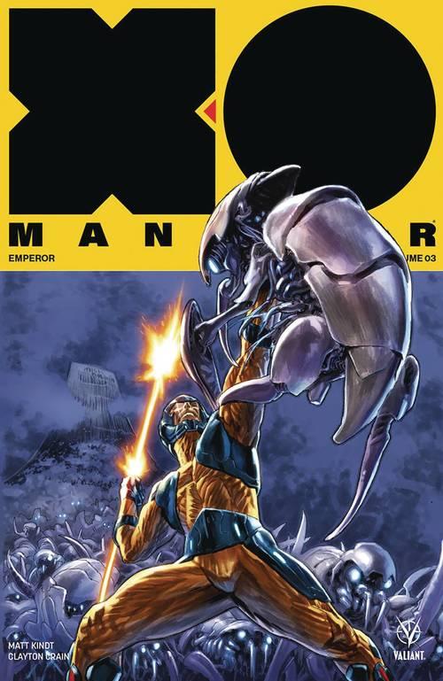 X-O Manowar 2017 TPB 03 Emperor