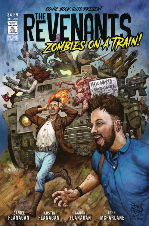 Revenants Zombies On A Train (Mature)