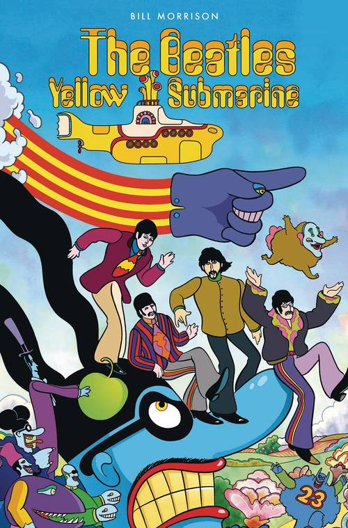 Titan comics beatles yellow submarine hardcover 20180203