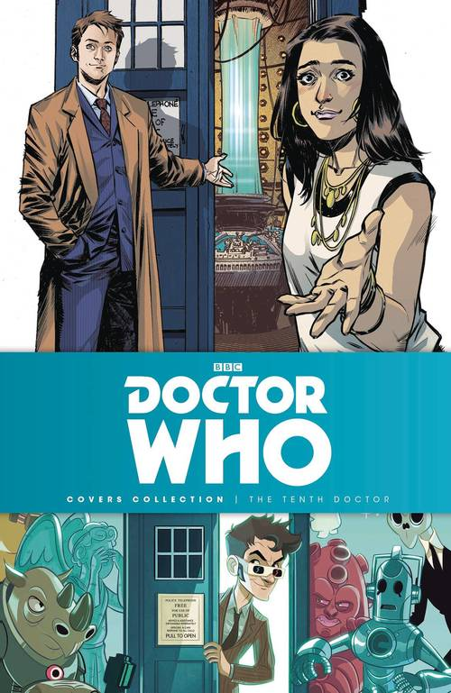 Titan comics doctor who 10th doctor cover collection hardcover 20180302