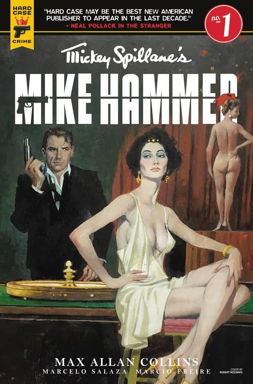 Titan comics mike hammer 20180329