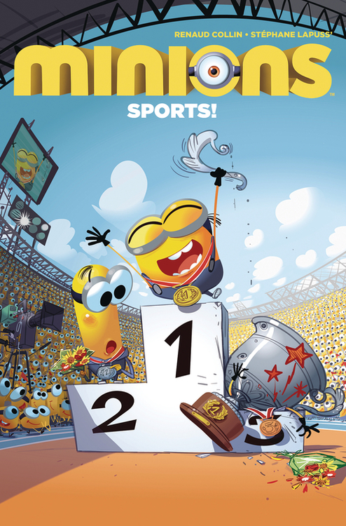Titan comics minions sports 20210101