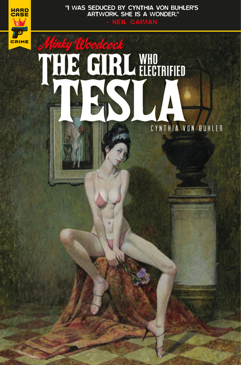 Minky Woodcock Girl Electrified Tesla (Mature)