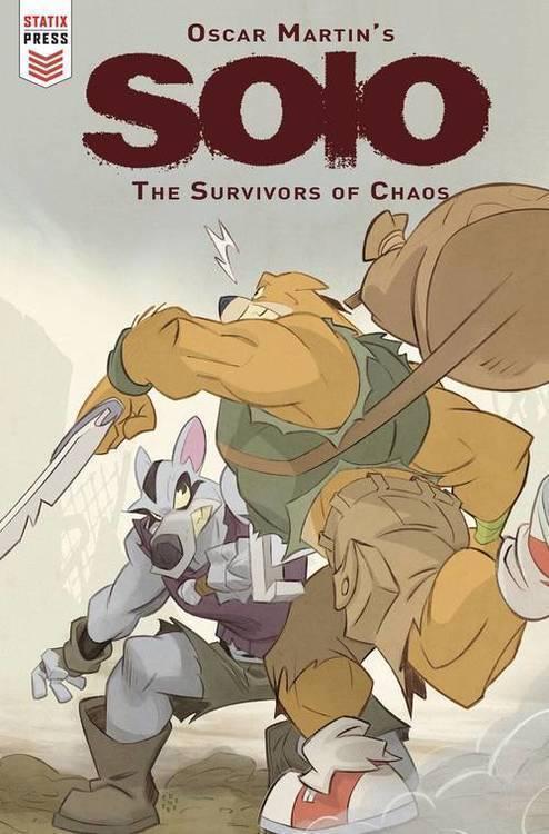 Titan comics oscar martin solo survivors of chaos 20180701