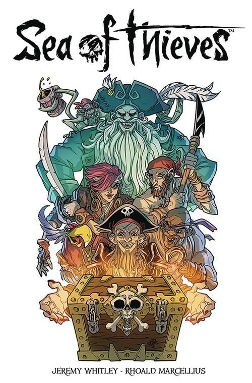 Titan comics sea of thieves 20171231