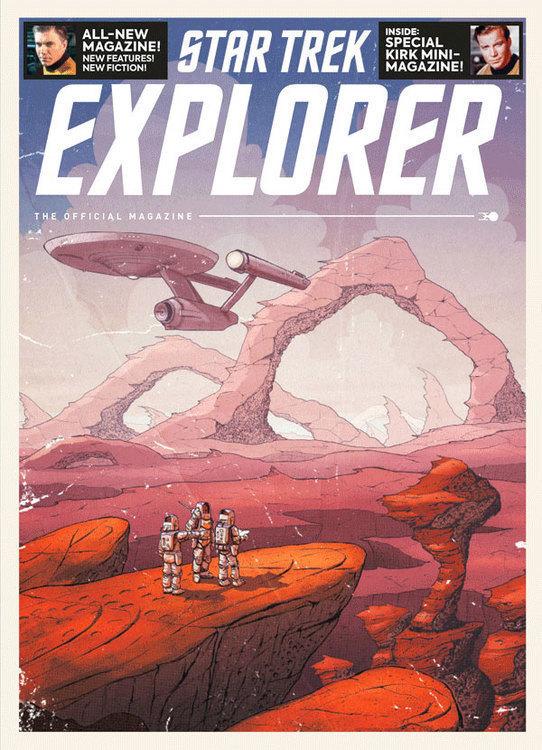 Titan comics star trek explorer magazine 20210829