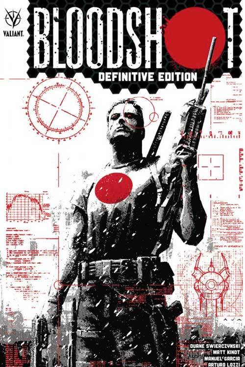 Valiant entertainment llc bloodshot tpb definitive edition