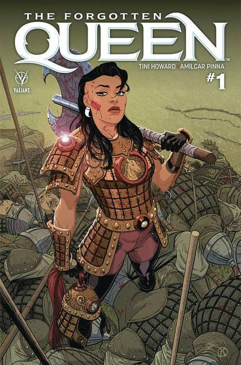 Valiant entertainment llc forgotten queen 20181130