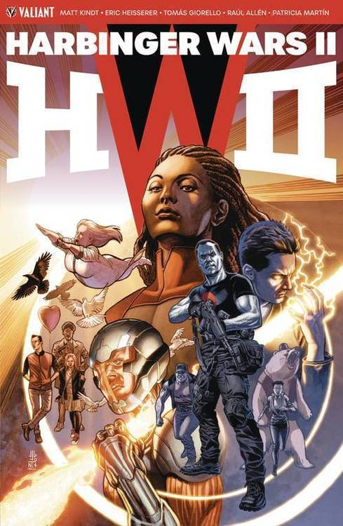 Valiant entertainment llc harbinger wars 2 tpb 20180830
