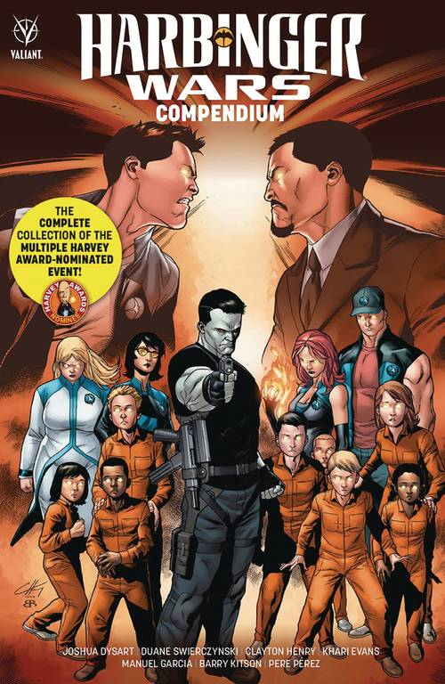 Valiant entertainment llc harbinger wars compendium tpb 20180302
