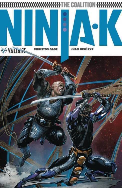 Valiant entertainment llc ninja k tpb volume 02 the coalition 20180801