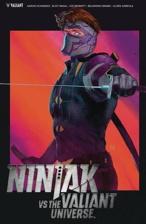 Valiant entertainment llc ninjak vs the valiant universe tpb 20180701