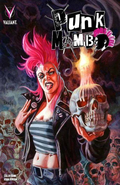 Valiant entertainment llc punk mambo tpb 20190626