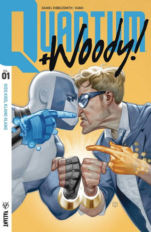 Valiant entertainment llc quantum woody 2017 tpb vol 01 kiss kiss klang klang 20180329