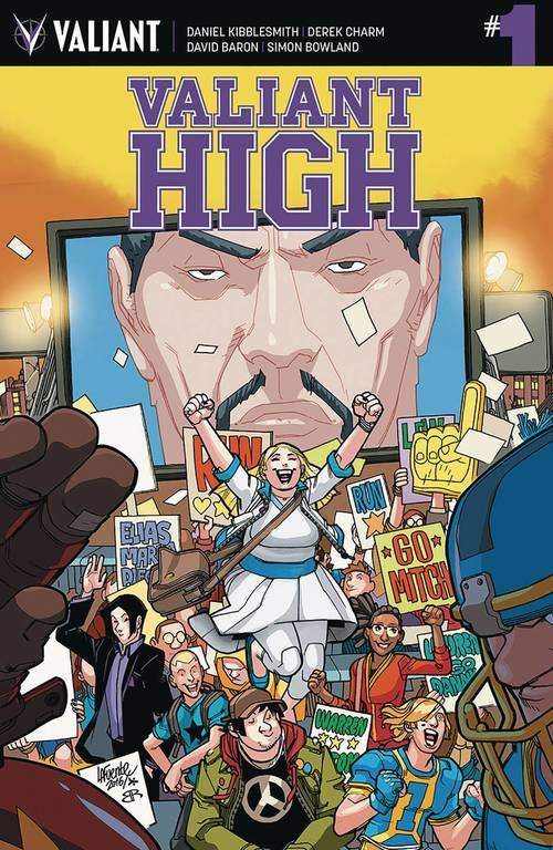 Valiant entertainment llc valiant high 20180302