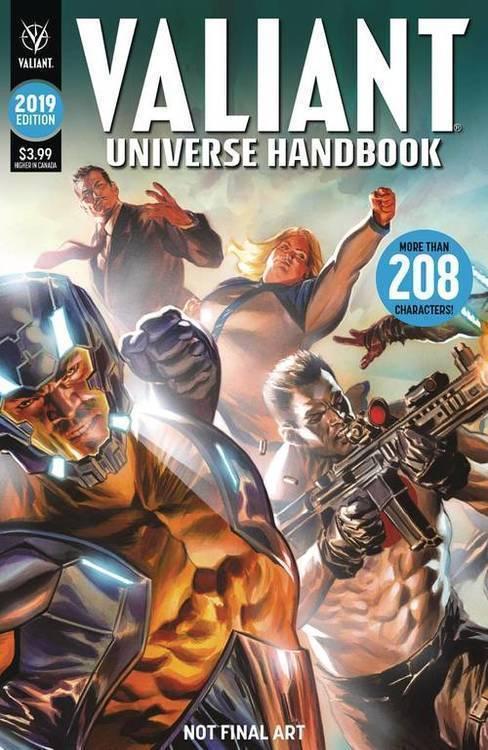 Valiant entertainment llc valiant universe handbook 2019 20190327