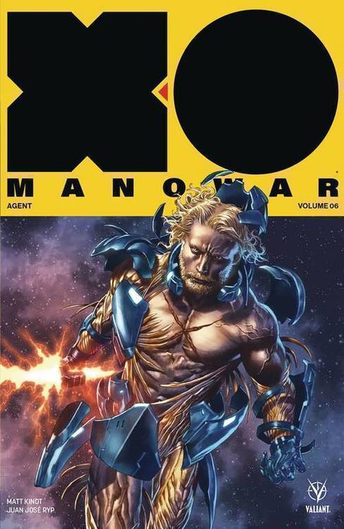 Valiant entertainment llc x o manowar 2017 tpb volume 06 agent 20181025