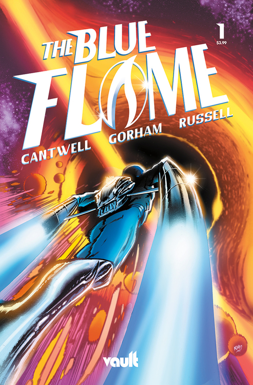 Vault comics blue flame 20210224