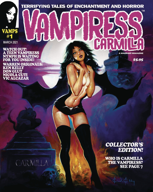 Warrant publishing company vampiress carmilla magazine 1 mr 20200924