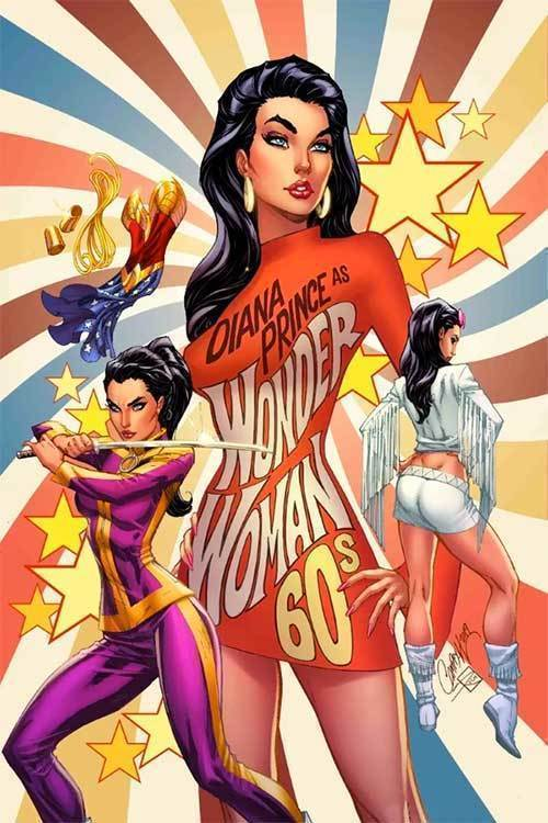 Wonder Woman #750 1960s Variant