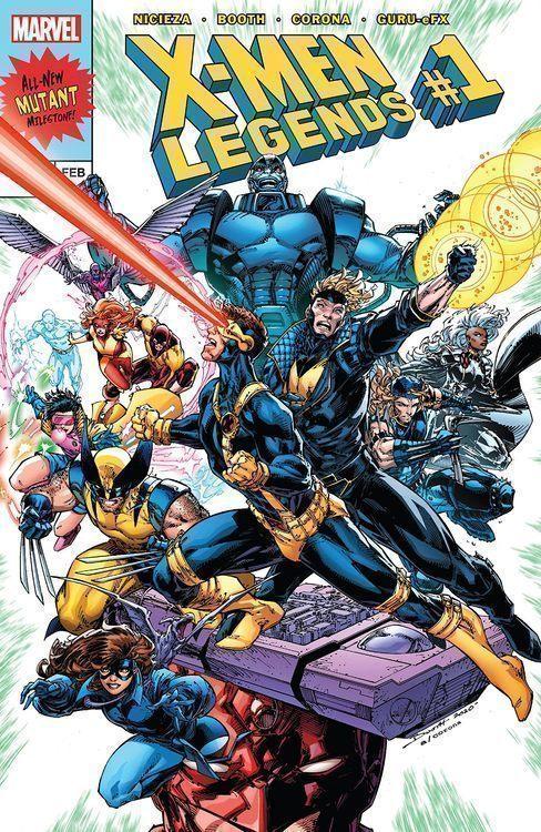 X-men Legends TPB Volume 01