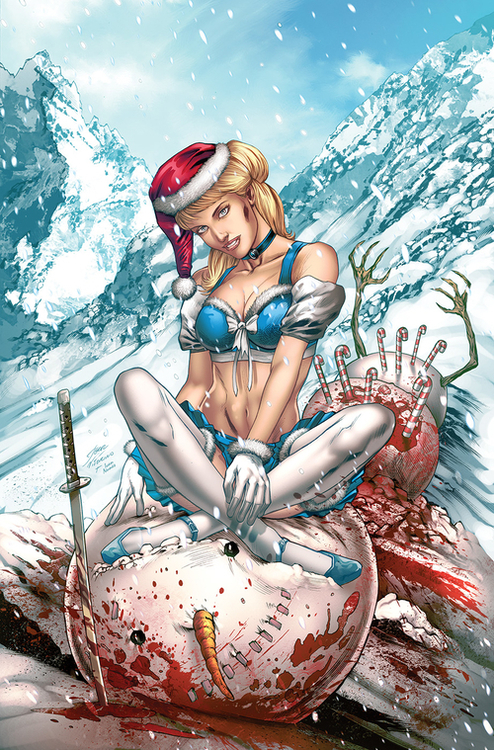 Zenescope entertainment inc cinderella bloody xmas annual 2020 20200826