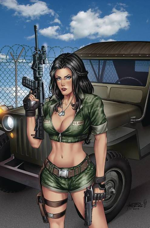 Zenescope entertainment inc grimm fairy tales 2019 armed forces appreciation 20190828