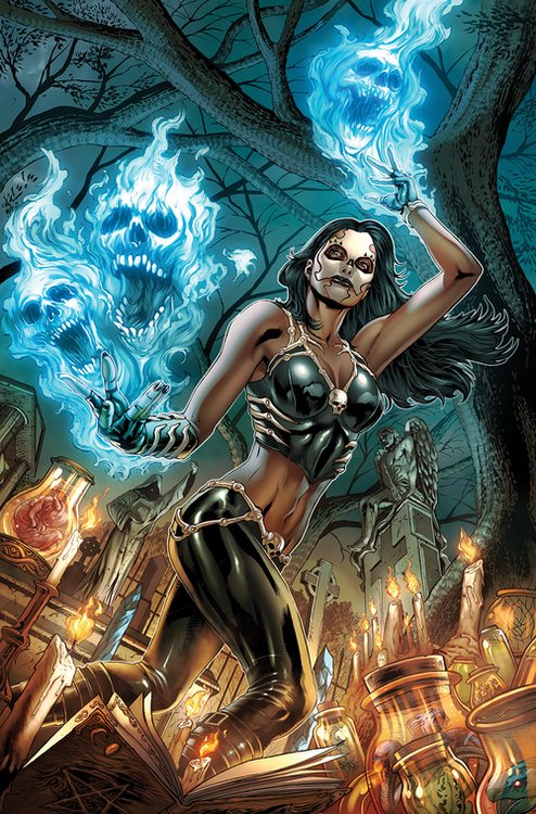 Zenescope entertainment inc grimm spotlight mystere voodoo dawn 20210126