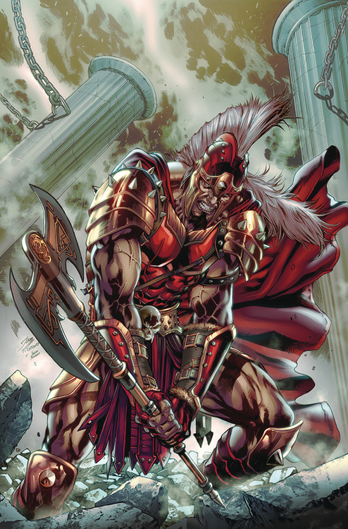 Zenescope entertainment inc myths legends quarterly ares 1 cvr a vitorino 20200528