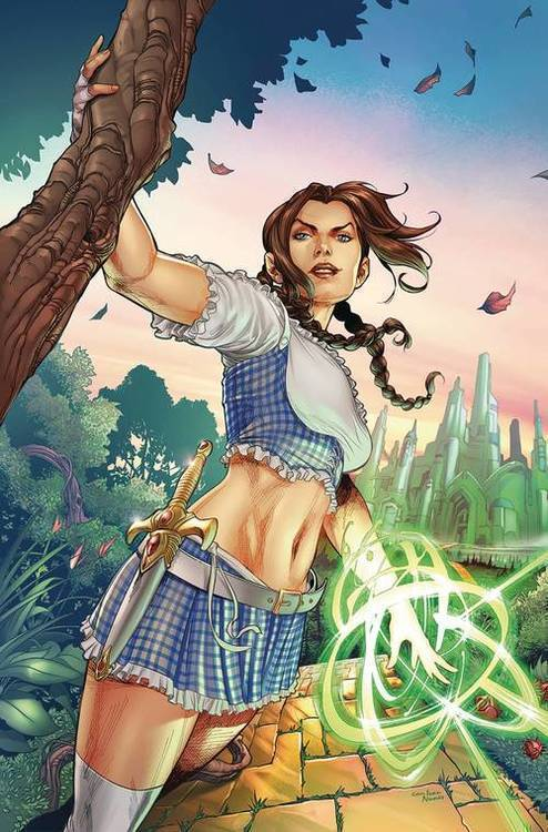 Zenescope entertainment inc oz heart of magic 20190129