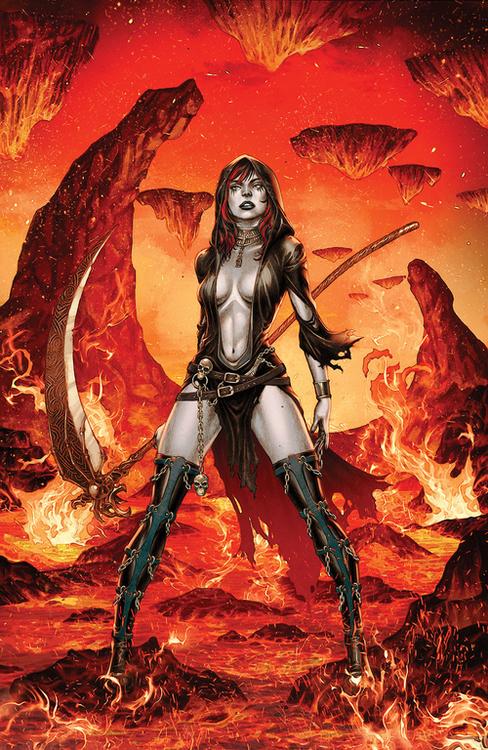 Zenescope entertainment inc tales of terror annual goddess of death 20210728
