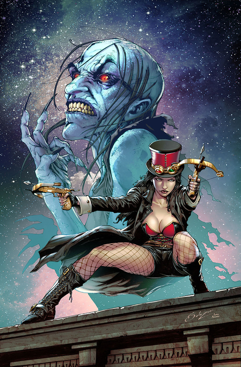 Zenescope entertainment inc van helsing black annis one shot 20210101