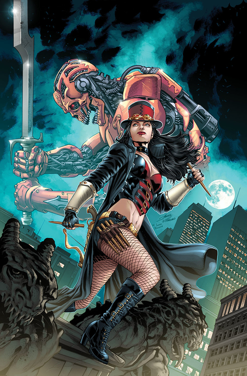 Van Helsing Steampunk #1 (One Shot)