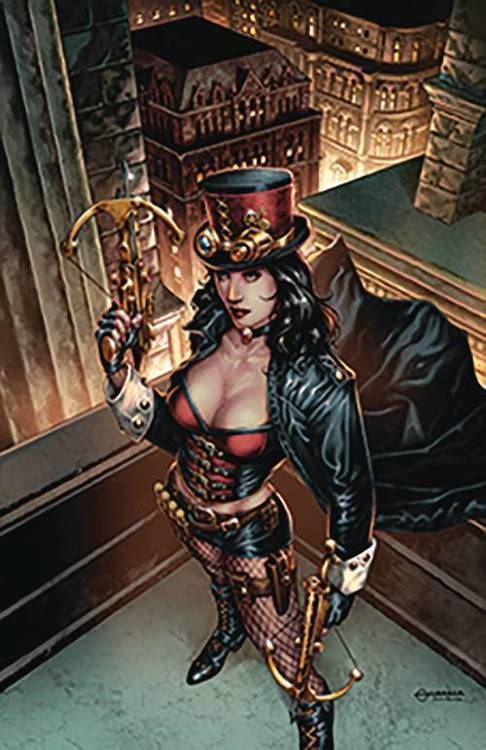 Zenescope entertainment inc van helsing sword of heaven 20180830